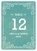 Fiesta Folk Art Table Numbers