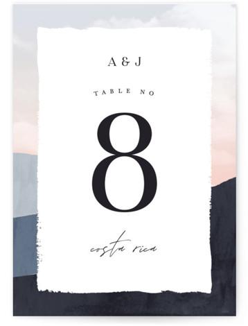 scene Table Numbers