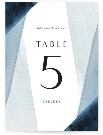 Trio Table Numbers