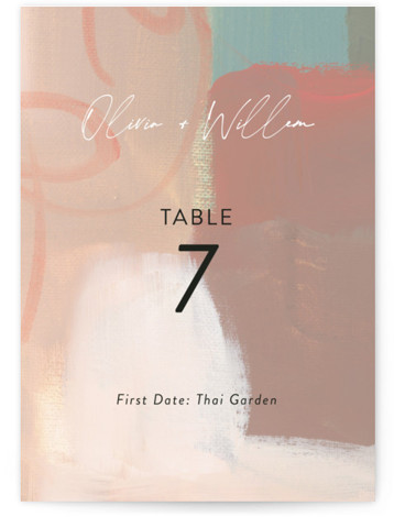 Gallery Table Numbers