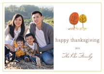 Fall in Love Thanksgiving Cards