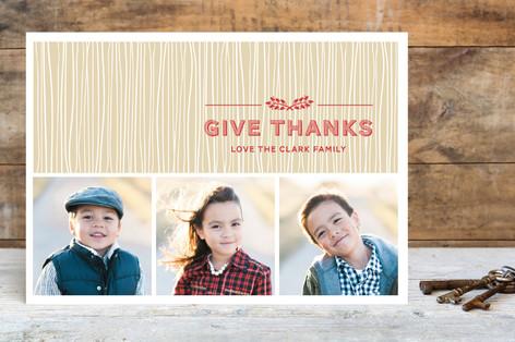 Rustic Splendor Thanksgiving Cards