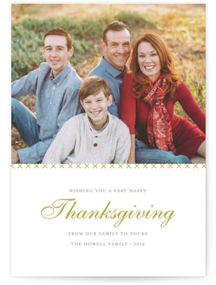 Cross Stitch Thanksgiving Cards
