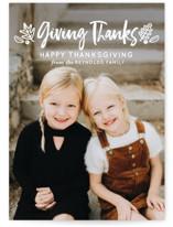 Thanksgiving Greetings by Faiths Designs