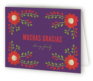 Mexican Ties Thank You Cards
