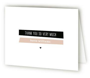 A New Angle Thank You Cards