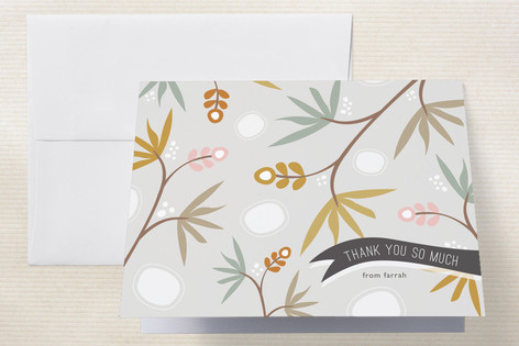Tropical Thanks Thank You Cards