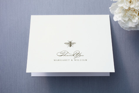 Honey Bee Thank You Cards