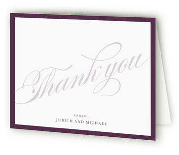 Framed Thank You Cards
