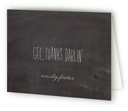 Gee Thanks Darlin' by emily elizabeth stationery