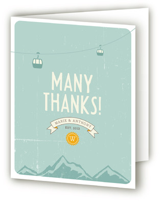 Mountain Wonderland Thank You Cards