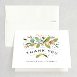 Folded Thank You Card