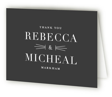 Mingle Thank You Cards