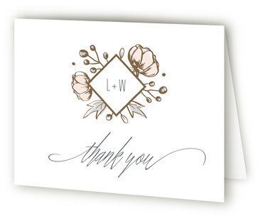 Romanced Thank You Cards