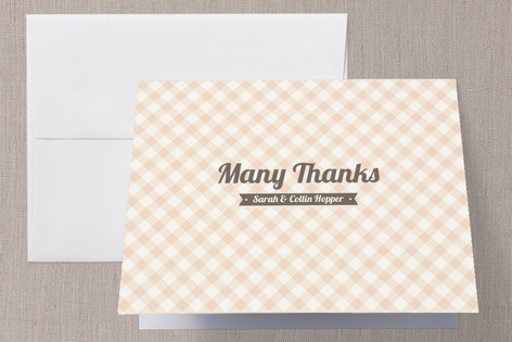 Country Classic Thank You Cards