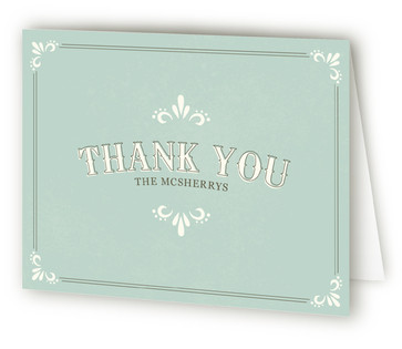 Marquee Thank You Cards