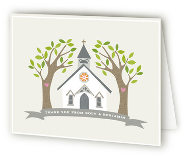 Going to the Chapel Thank You Cards