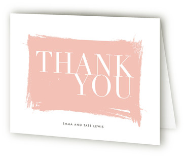Gallery Hopping Thank You Cards