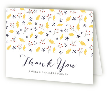 Merry Garden Thank You Cards