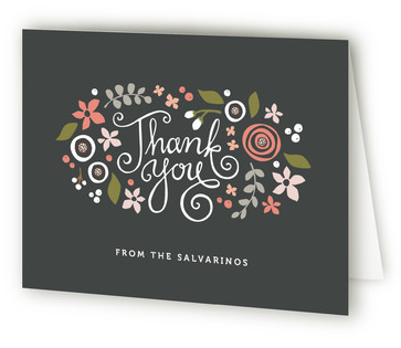 Midnight Fete Thank You Cards