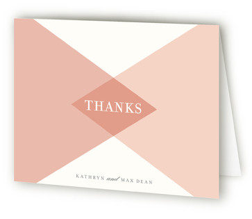 Mingle Graphic Thank You Cards