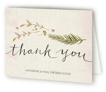 Leaf Specimen Thank You Cards