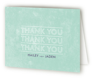 Just What You Need Thank You Cards