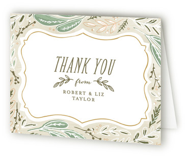 Herb Garden Thank You Cards