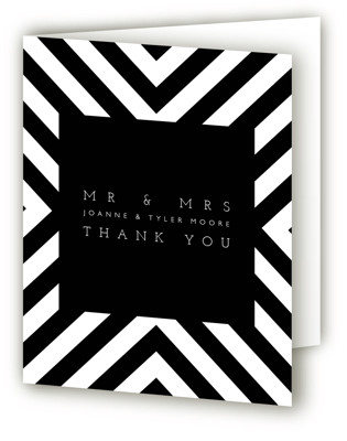Hip To Be Square Thank You Cards