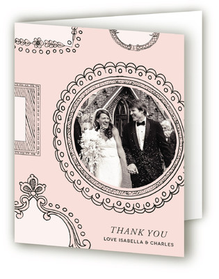 Framed Union Thank You Cards