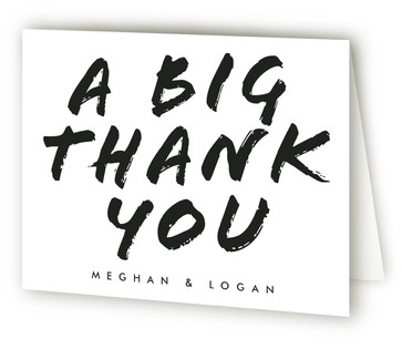 Big Mod Thank You Cards