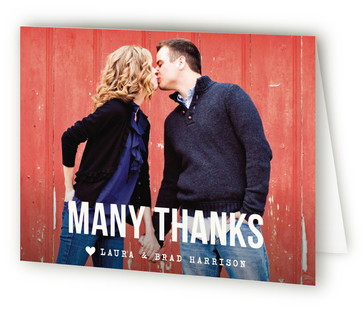 Modern Union Thank You Cards