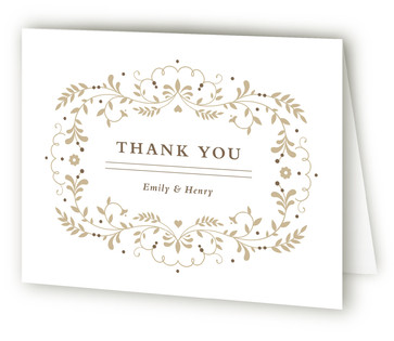 Jasmine Bloom Thank You Cards