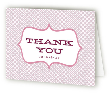 Red Velvet Thank You Cards