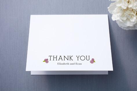 Parisian Blooms Thank You Cards
