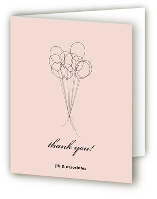 Ten Balloons Thank You Cards