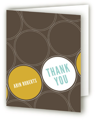 Circle Soiree Thank You Cards