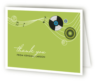 Records Thank You Cards