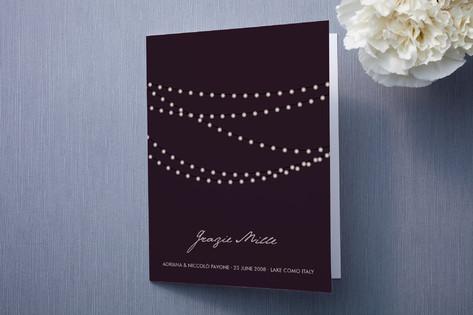 Midnight Vineyard Thank You Cards
