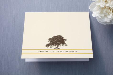 Oak Tree Thank You Cards