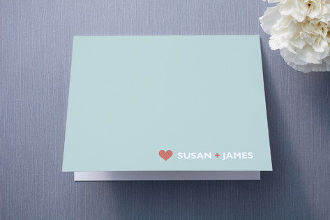 just married Thank You Cards