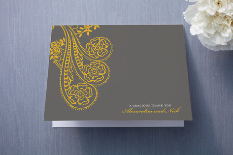 Spanish Lace Thank You Cards