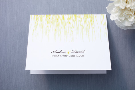 Goldshine Thank You Cards