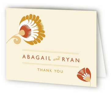 Papercut Thank You Cards