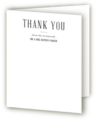 Queen Mary Thank You Cards