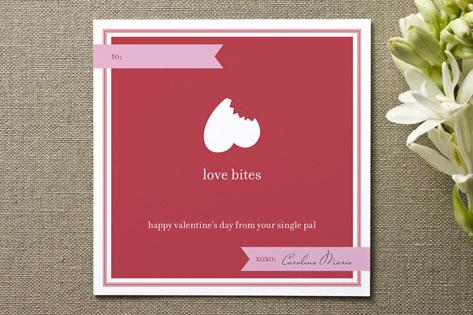 Love Bites Valentine's Day Cards