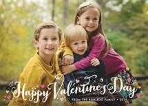 Valentine Heart Sprinkle Valentine's Day Cards