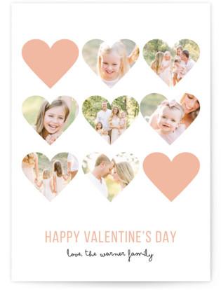 Modern Hearts Valentine's Day Cards
