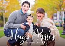 Hugs And Kisses! Valentine's Day Cards