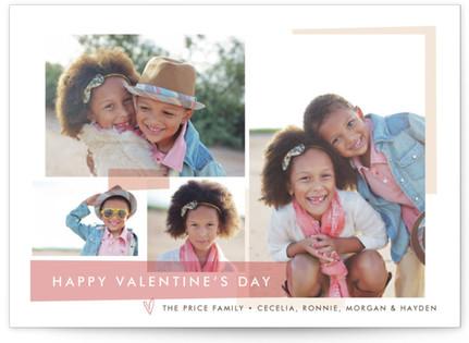 Modern Collage Valentine's Day Postcards